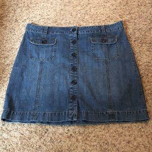 [Old Navy] Jean Skirt